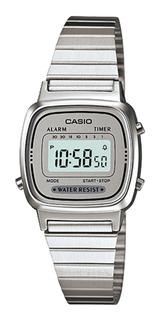Reloj Casio Illuminator Mujer Plateado Relojes en Mercado