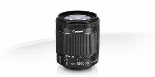 Imagem 1 de 3 de Lente Canon Efs 18-55mm F4-5.6 Is Stm Sem Caixa - Com Nfe