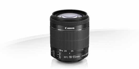 Lente Canon Efs 18-55mm F4-5.6 Is Stm Sem Caixa - Com Nfe