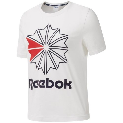 Remera Reebok Classics Big Logo Graphic De Mujer