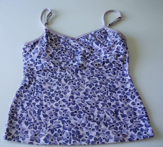 Musculosa Gap Flores Talle Xs