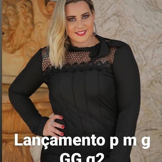 Blusa Feminina Evangelica Plus Size Com Laço.promoção