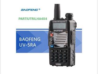 Rádio Ht Dual Band(uhf+vhf) Baofeng Uv-5ra + Fone De Brinde + Garantia + Manual Em Inglês + Pronta Entrega !