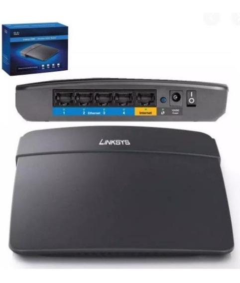 Router Wifi N300 Mbps Cisco Linksys E900/ 4 Port Rj45 Oferta