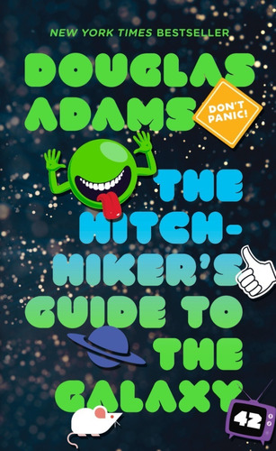 The Hitchhiker's Guide To The Galaxy Book - Douglas Adams