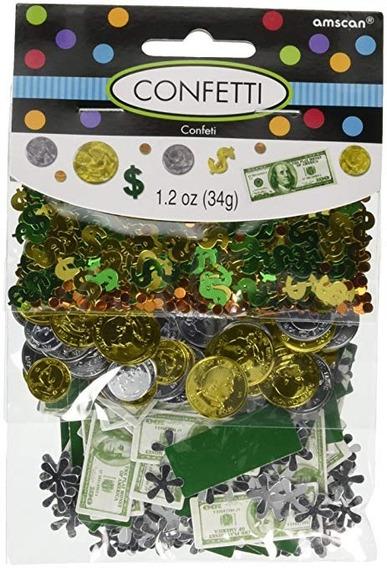 Confetti Dinero Billetes Fiesta Casino Apuestas Suerte Dolar
