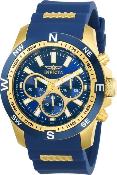 Relógio Invicta I Force 22682 Cronógrafo Silicone