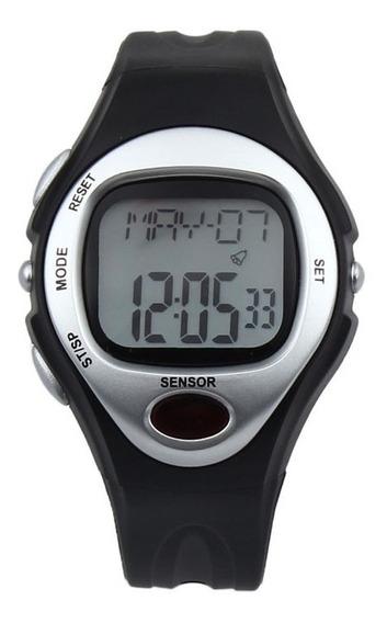 Relógio Pulso Medidor Caloria Freq. Batimento Cardíaco Cores