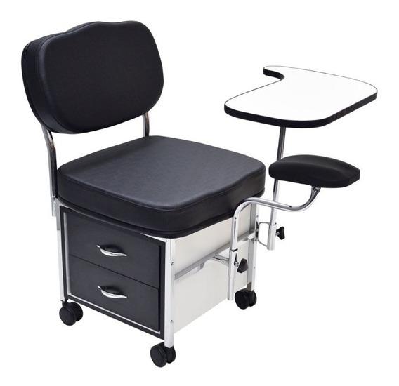 Cadeira Ciranda Manicure Móveis Para Salão E Manicure