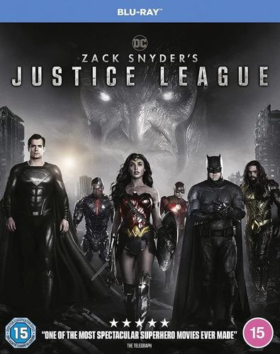 Imagen 1 de 2 de Blu-ray Zack Snyder´s Justice League / Liga De La Justicia
