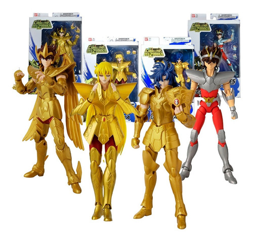 Caballeros Del Zodiaco Anime Heroes Figura Articulada Bandai