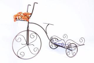Bicicleta Ferro Artesanal Revista Sala Jardim