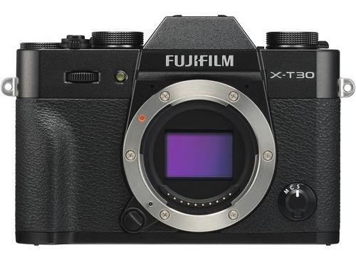 Câmera Fujifilm X-t30 Mirrorless Preta - Lacrada Com Nf