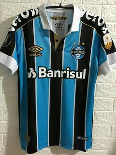 Camisa Grêmio Umbro 19/20 N°11 Everton C/ Patch Libertadores