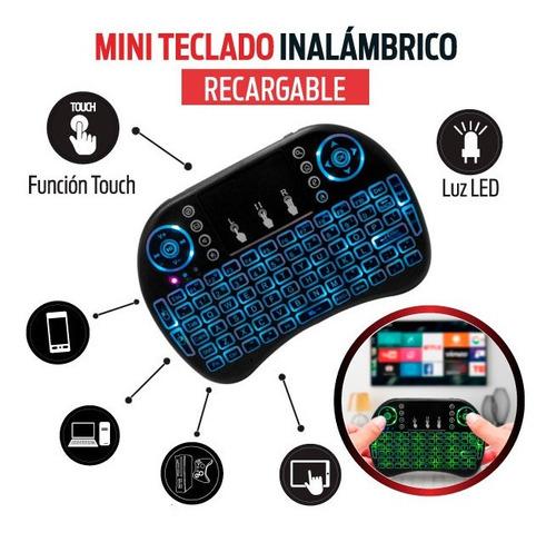 Mini Teclado Inalámbrico Tv Box Android Súper Potente Oferta