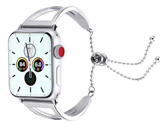 Correa Extensible Acero Inoxidable Para Apple Watch Serie 5