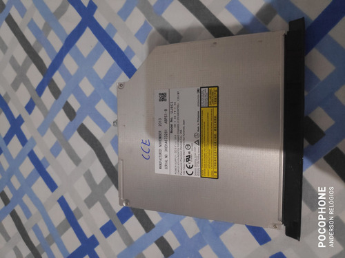 Gravador Dvd Notebook Cce Thin Th 345