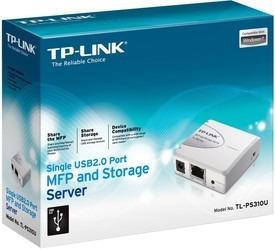 Imagen 1 de 3 de Servidor De Impresión (print Server) Tp-link Tl-ps310u