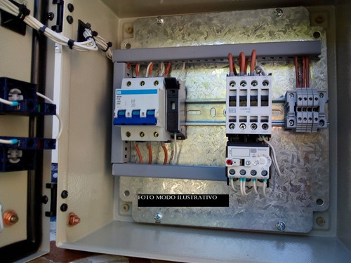 Tablero Comando De Bomba 12 Amp Man-aut Fao-electric Nº113