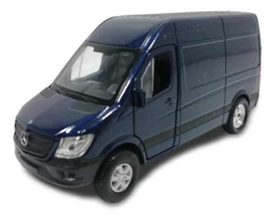 Camioneta Welly 1:36 Mercedes Benz Sprinter Azul 43730