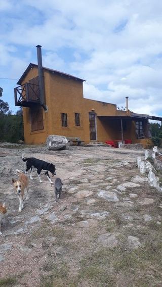Chacra 5 Hect. Con Cañada Y Casa A 70 Km. De Punta Del Est