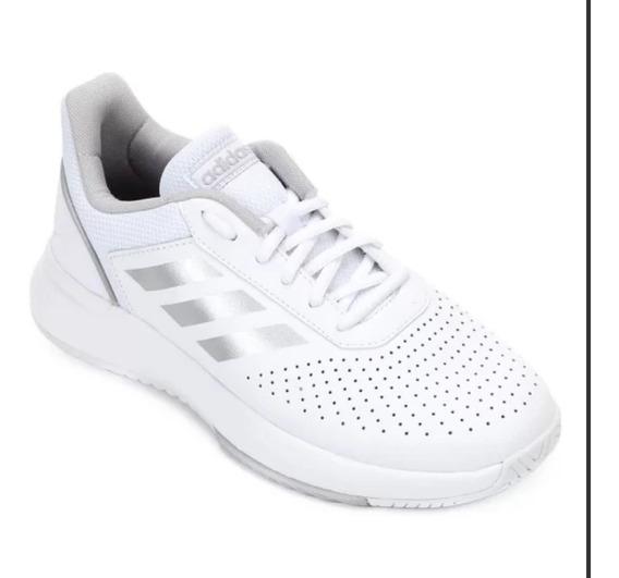 Tênis adidas Courtsmash Feminino - Branco