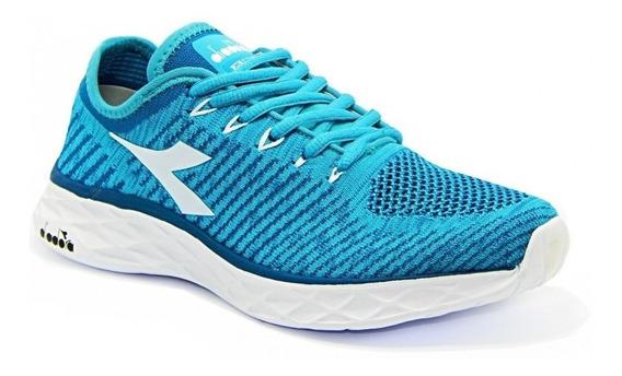 Tênis Diadora Feminino Flow 125521 Original - Azul Celeste