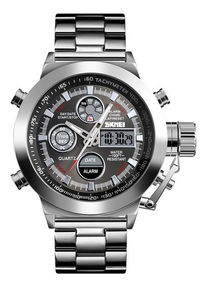 Reloj Skmei 1515 Profesional De Cuarzo 3atm P/hombre