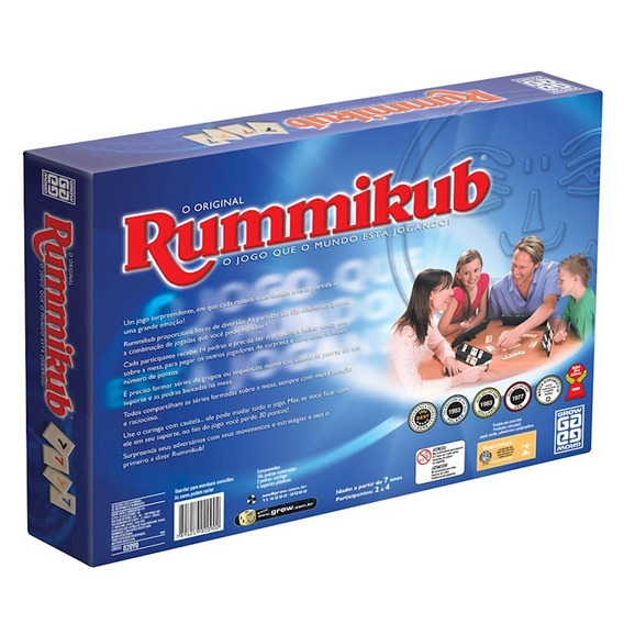 Jogo Rummikub - Grow - Original - A Pronta Entrega