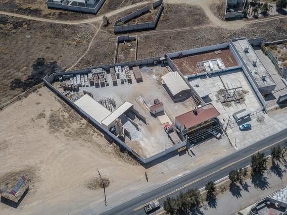 Fábrica Bloquera Italmexicana - Propiedad A Pie De Carretera