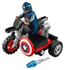 Lego Marvel Capitan America Mini Set #30447