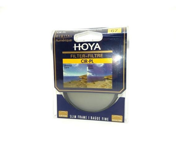 Filtro Polarizador Hoya 67mm Cpl Lente Canon Nikon Fuji Sony