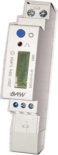 Imagen 1 de 1 de Medidor Consumo Monofásico Digital En 1 Módulo Din 45a 220v