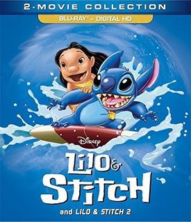 Blu-ray Lilo & Stitch 1 & 2 / Incluye 2 Films
