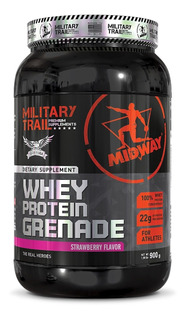 3x Whey Protein Military Trail Grenade 900g - Midway Usa