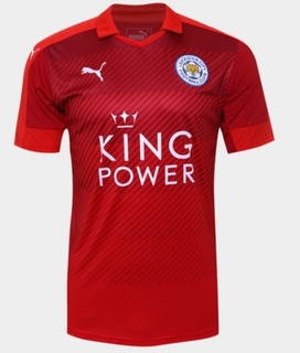 Jersey Puma Leicester City 2016-17 Visita Campeon Original