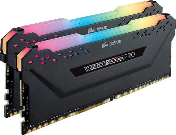 Memoria Ram Corsair Vengeance Pro Rgb 16gb 2x8g Ddr4 3200mhz