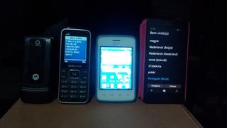 Lote 3 Celulares - Lumia 630, Lg L20, W375