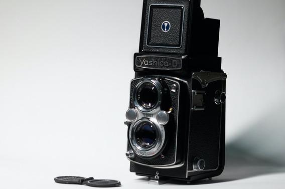 Yashica D Zero Usada Uma Unica Vez Tipo Rolleiflex