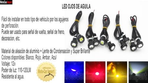 F Luces Led Ojos De Aguila Luces Para Moto Auto