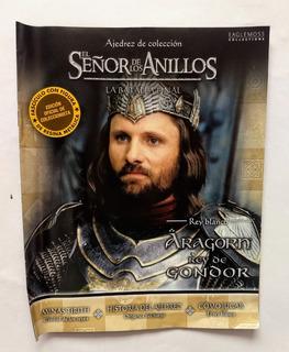 Ajedrez De Colección - El Señor De Los Anillos N° 2 Aragorn
