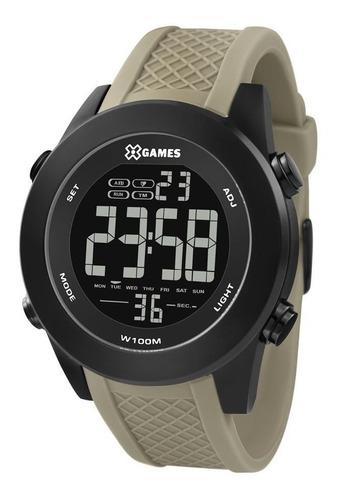 Relógio X Games Masculino Ref: Xmnpd003 Pxex Digital Black