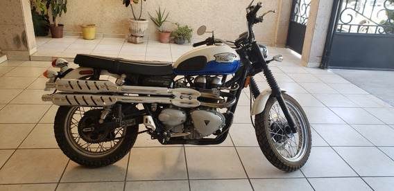 Moto Triumph Scrambler 900cc 2006