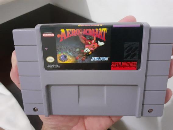 Aero The Acro-bat - Snes - Original