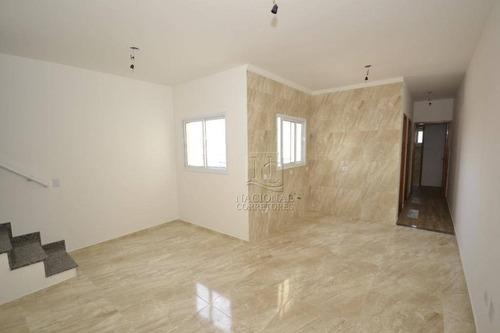 Cobertura Com 2 Dormitórios À Venda, 100 M² Por R$ 340.000,00 - Jardim Progresso - Santo André/sp - Co4973