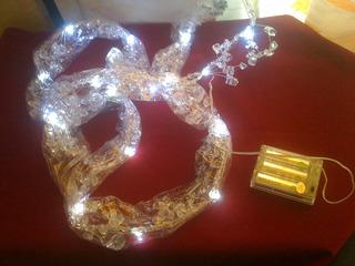 Tira Led Decorativa Cristales