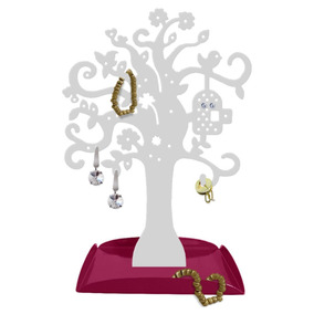 Árvore Biju Organizador Bijuteria Porta Joia Brinco Corrente