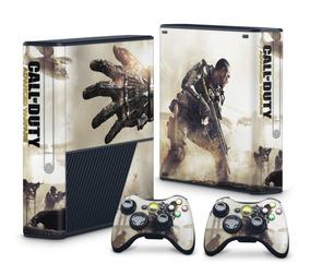 Skin Xbox 360 Super Slim Call Of Duty Advanced Warfare