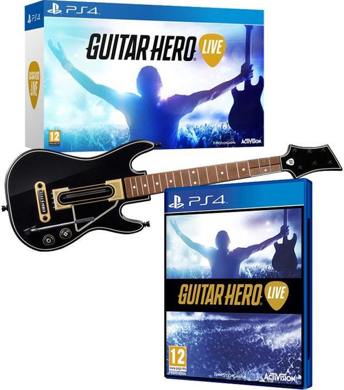 Guitar Hero Live Ps4 Bundle Guitarra + Jogo