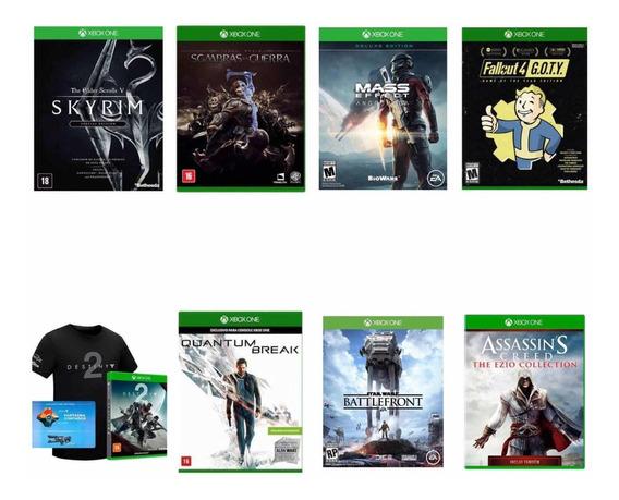Kit Gold 8 Jogos Xbox One Lacrados E Originais Black Friday